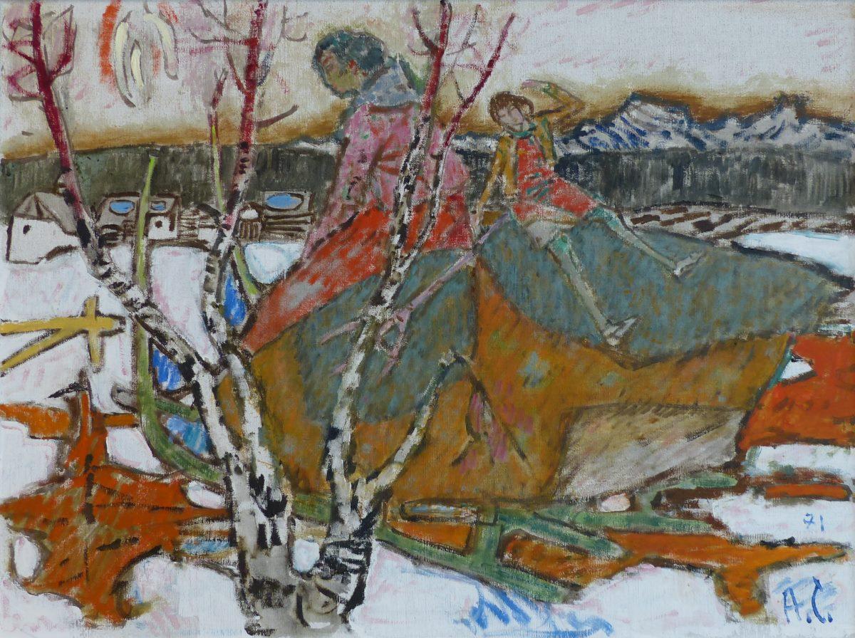 Carigiet Alois Schweizer Kunst Bilder Verkaufen Und Kaufen