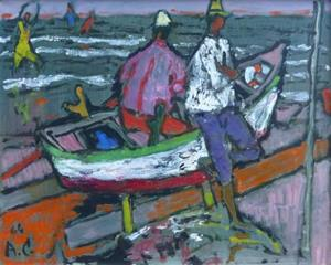 Sommertag am See, 1964